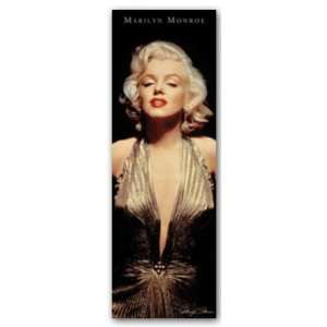 Marilyn Monroe   Gold Dress Giant Door Poster 21x62 in