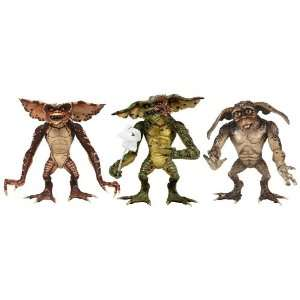 Neca Gremlins   7 Action Fig   Series 2 Gremlins Set of 3