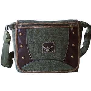 Style Canvas Messenger Bag Crossbody Bookbag
