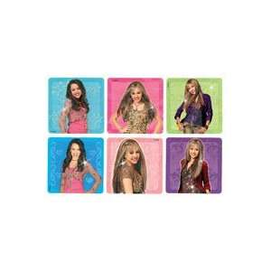 PS322 Sticker Glitter Hannah Montana Asst 2.5x2.5 50 Per