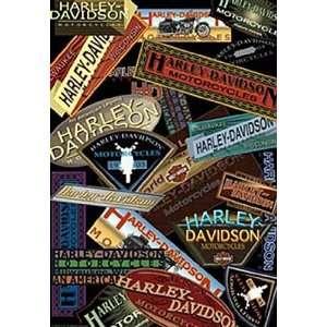 Harley Davidson Collage Estate Flag Patio, Lawn & Garden