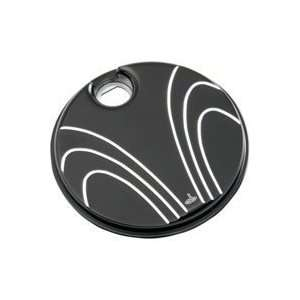 with Machined Accents Fuel Door Cover for Harley Davidson Touring