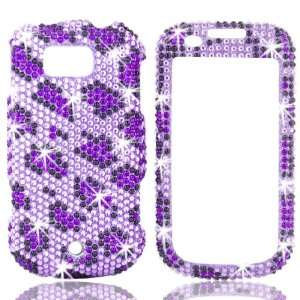 Phone Shell Cover Case (Leopard Purple) + FREE Hello Kitty Strap