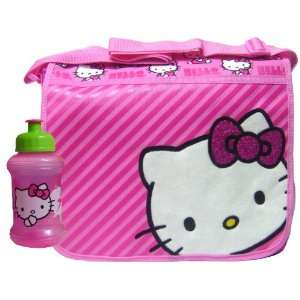 Casual Hello Kitty Pink Messenger Bag & Water Bottle Toys