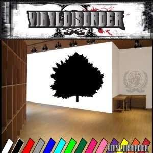 Trees Hemlock Tree NS001 Vinyl Decal Wall Art Sticker
