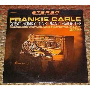 Great Honky Tonk Piano Favorites by Frankie Carle Record