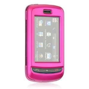 LG Xenon GR500 Hot Pink Metallic 2 Piece Hard Case Cover