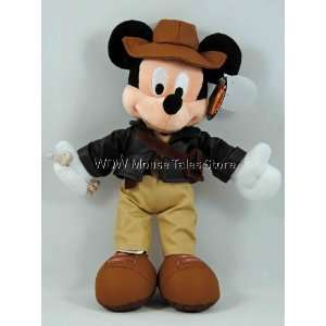 Disney World Indiana Jones Mickey Mouse Plush Doll  Toys & Games