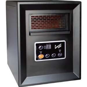 Comfort Zone Infrared Quartz Heater   3413 BTU, 1000 Watts