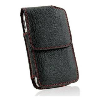 Verizon Iphone 4 Vertical Executive Leather Case Holster