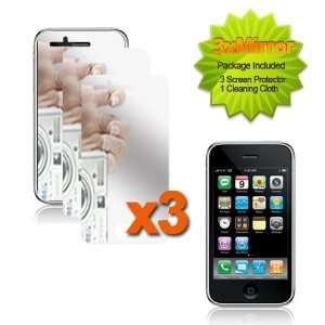 LCD SCREEN PROTECTOR   MIRROR 3 PACK For APPLE IPOD IPHONE