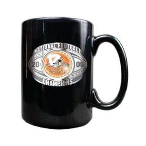 Longhorns 2005 National Champions Black Coffee Mug Sports & Outdoors