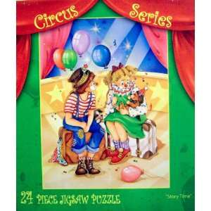 Circus Series   Story Time   24 Piece Jigsaw Puzzle Toys & Games