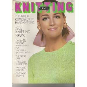 Vogue Knitting Magazine Spring/summer 1969 Books