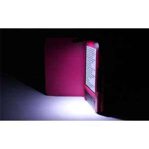 Mobogadget (Tm) Hot Pink Folio Leather Cover Case with Flipped Up Lamp