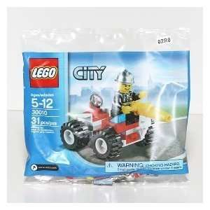 LEGO City Exclusive Mini Figure Set #30010 Fire Chief Bagged  Toys