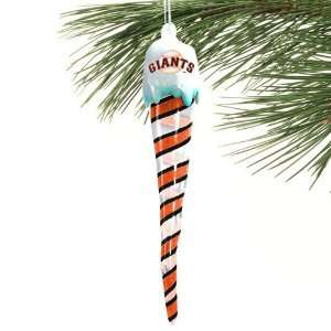 San Francisco Giants Light Up Icicle Ornament Sports