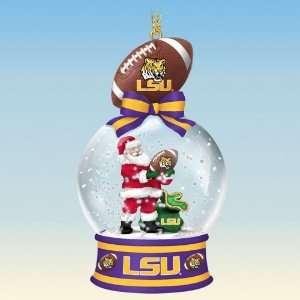 LSU Tigers Snow Globe Ornaments