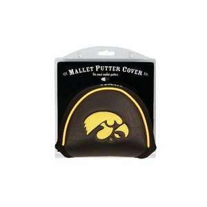 Iowa Hawkeyes Golf Mallet Putter Cover (Set of 2) Sports