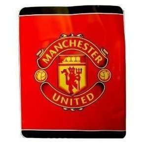 MANCHESTER UNITED OFFICIAL TWIN BLANKET