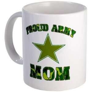 Proud army Mom Military Mug by