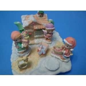 Precious Moments Mini Tea Set Christmas Toyshop