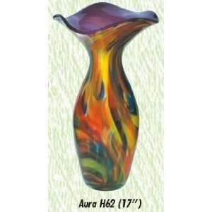 Aura Vase Hand Blown Modern Glass Vase