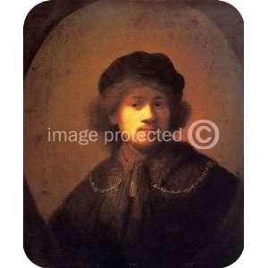 Artist Rembrandt Art Self Portrait MOUSE PAD