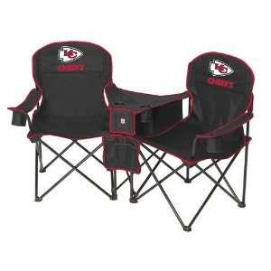 Kansas City Chiefs NFL Deluxe Folding Conversation Arm Chair