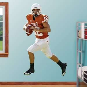 NFL Colt McCoy Texas Vinyl Wall Graphic Decal Sticker
