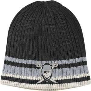 Oakland Raiders Throwback Logo Cuffless Knit Hat