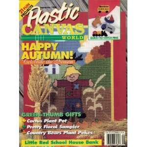 Plastic Canvas World September 1998 (Craft Magazine 21 Projects