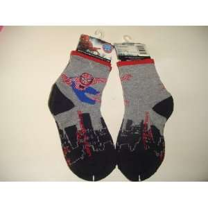 2 Pairs Socks   Spiderman Spider Man 3 for Boys: Baby