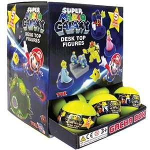Super Mario Galaxy Buildable Mini Figures Random 6 Pack  Toys & Games
