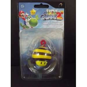 Super Mario Galaxy 2 Mini Figure Keychain Bee Mushroom