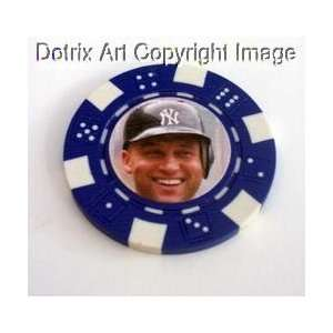 Jeter Las Vegas Casino Poker Chip limited edition