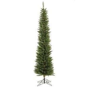Pole Pine Christmas Tree w/ 294T & 150 Dura Lit Multi color Lights