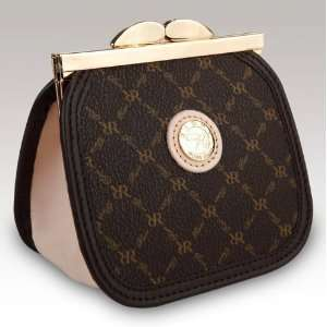 Signature Brown Coin Purse by Rioni Handbags & Luggage