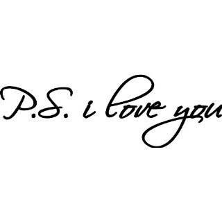Love You Romance Vinyl Wall Decal