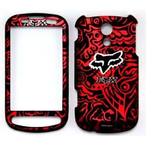 SAMSUNG EPIC 4G D700 FOX RACING RED CASE