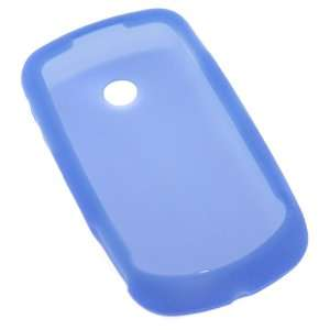 GTMax Blue Silicone Skin Soft Cover Case for AT&T Samsung Solstice