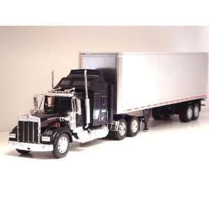 Kenworth W900 Tractor Trailer G scale Toy truck (Black) Toys & Games