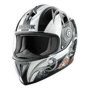 Shark RSI ACID BLK_WHITE XS MOTORCYCLE Full Face Helmet