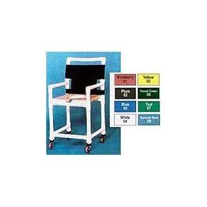 Innovative Medical Shower Chair Open Front Dlx Navy Seat Laguna Back