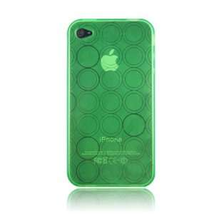 Green Solo Series Flex Gel Case for Iphone 4 & 4S Cell