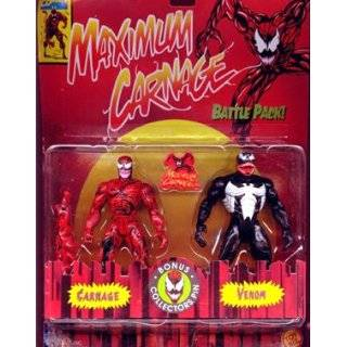 MAXIMUM CARNAGE  2 PACK, SPIDER MAN AND CARNAGE MOC Toys & Games