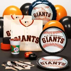By AMSCAN San Francisco Giants Baseball Standard Pack