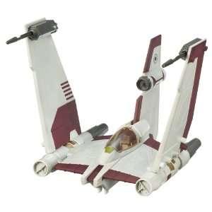 Star Wars Clone Wars Star fighter Vehicle   V 19 Clone