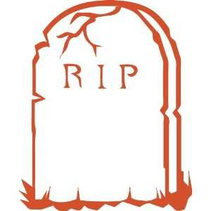 Halloween Series RIP Removable Wall Sticker