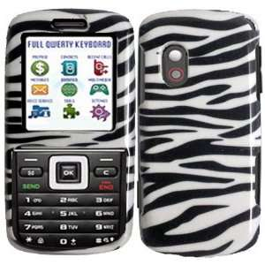 Straight Talk Samsung T401G Hard Cover Case Zebra Cell Phones